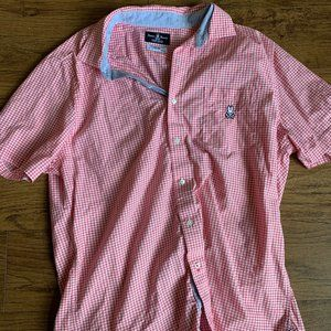 Psycho Bunny Men's Checkered Shirt